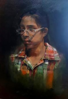 Self-portrait by Ray Wanda Totanes, 15 year old