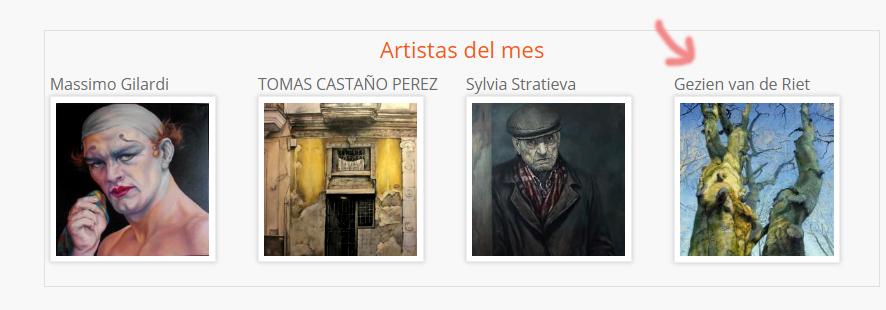 Galería Artelibre Artistas del mes