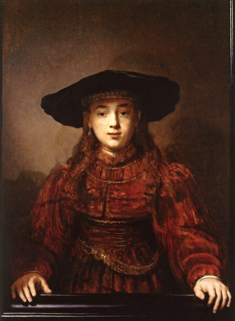 Rembrandt-Girl-Pictureframe