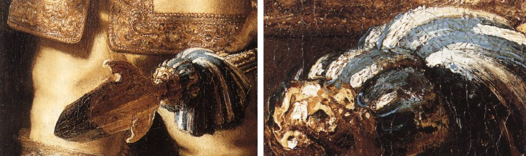 Rembrandt, details Nightwatch