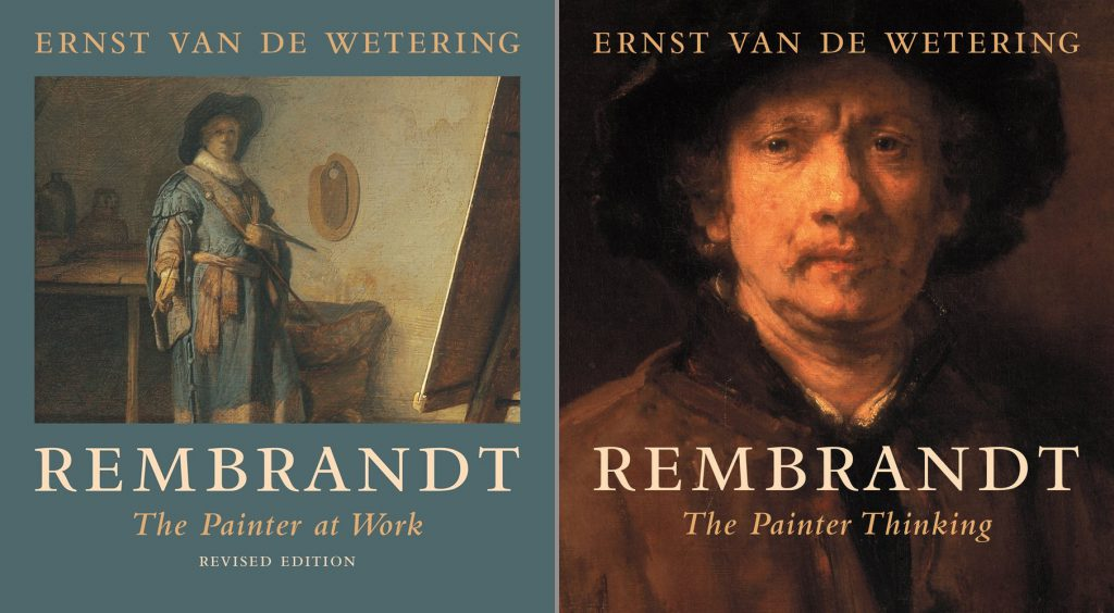Rembrandt. The Painter at Work & Rembrandt. The Painter Thinking. Art theory Dutch Golden Age