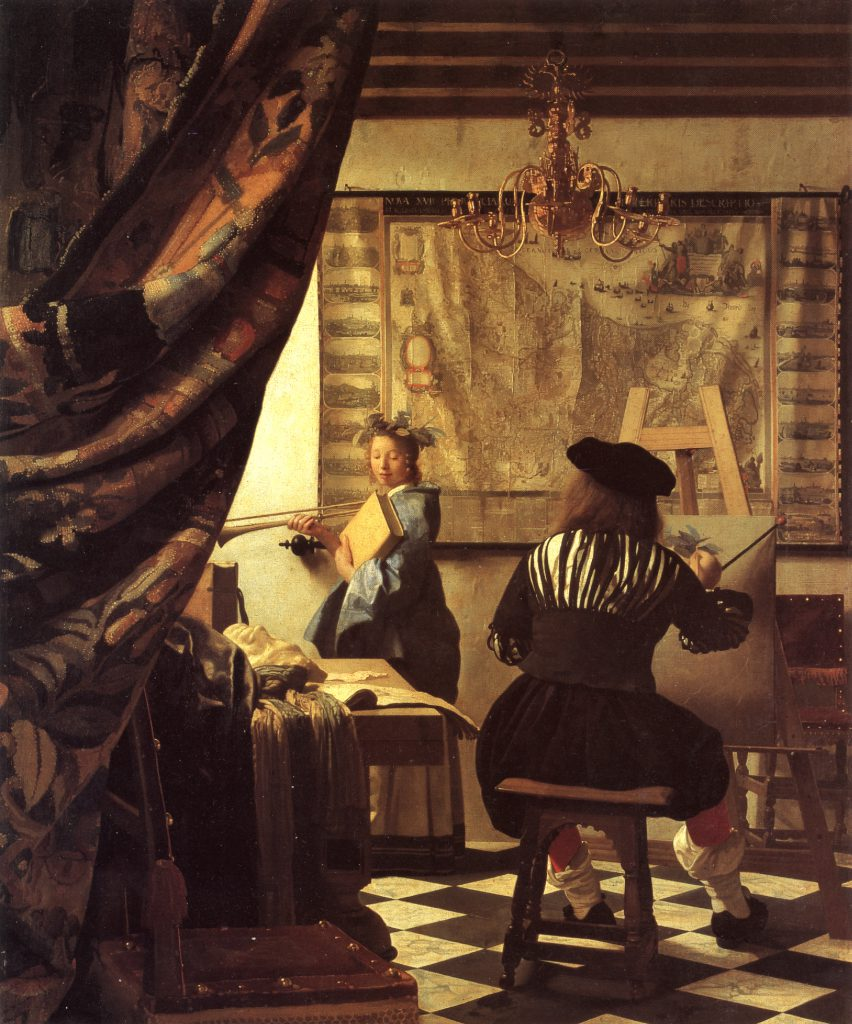 Vermeer-Art-Painting