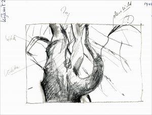 Gezien van de Riet. Sketch for Beech of Kijkuit-2