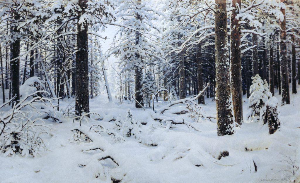 Shishkin. Winter