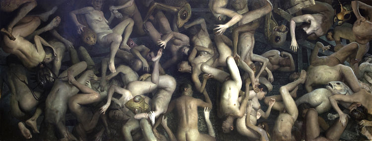 Vincent Desiderio Theseus