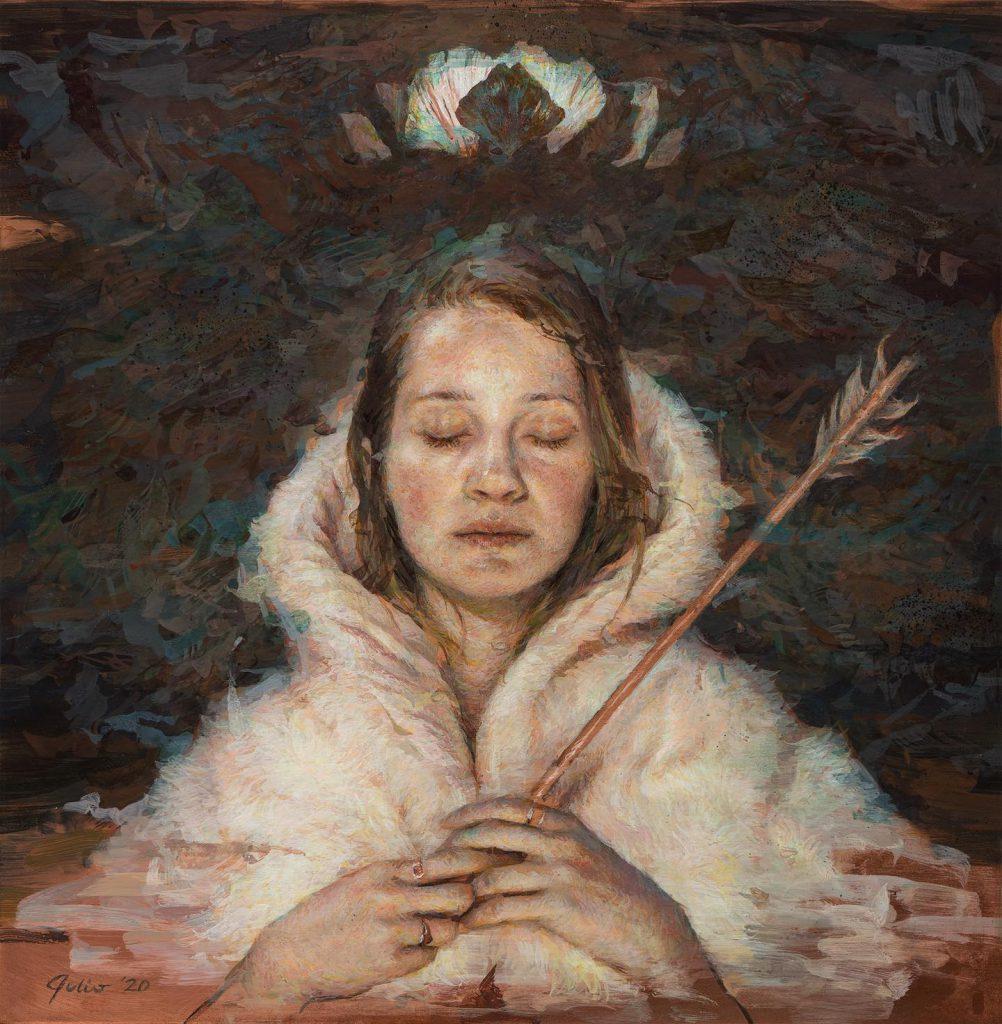 Julio Reyes painted Byzantium