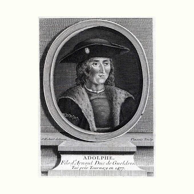 portret van Adolf van Gelder