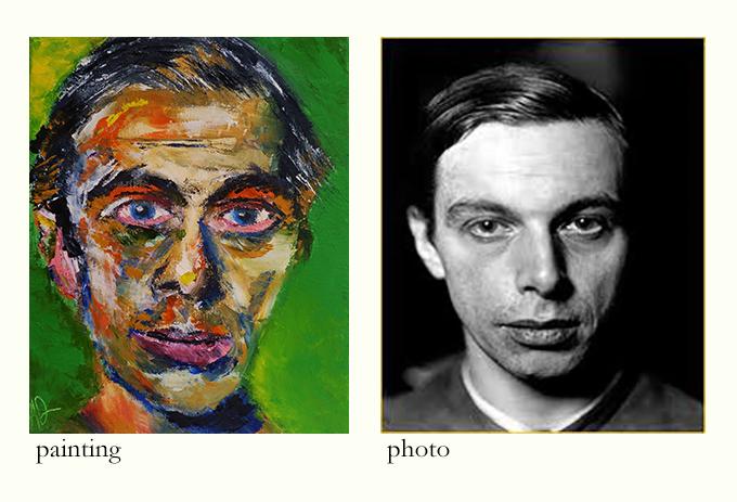 Kirchner, Selfportrait.