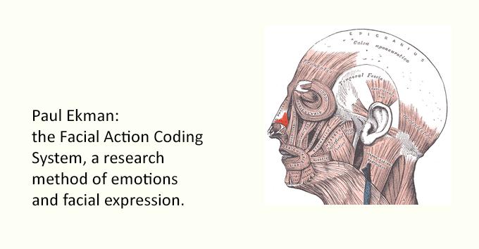 Paul Ekman: the Facial Action Coding
