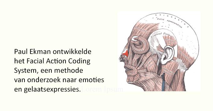 Paul Ekman developed Facial Action Coding System