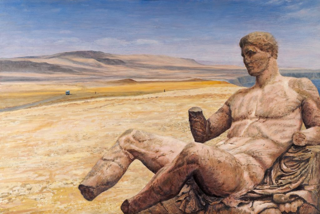 Dionysos in quarantine, in the desert of Peru.